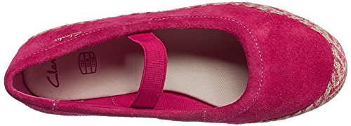 Clarks Dance Jump, Ballerines fille Rose
