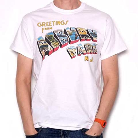 Greetings From Asbury Park T Shirt - Full Colour As Used by Springsteen (Rock Im Park T Shirt)