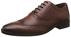 Blackberrys Mens Edison Brown Leather Formal Shoes - 8 UK/India (42 EU)