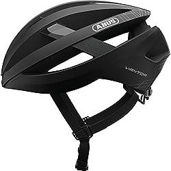 Abus viantor Bicicleta Casco, Todo el año, Unisex, Color Terciopelo Negro, tamaño Medium