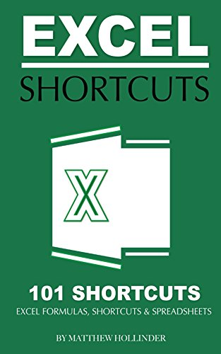 Excel Shortcuts 101 Shortcuts: Excel Formulas, Shortcuts & Spreadsheets (English - Cheat Excel Sheet 2013