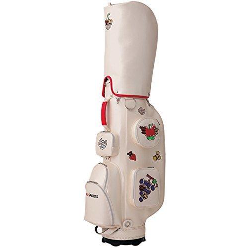 MU Sports 2017SS Serie Caddy Bag White 703 V 2102 Golf Wear/Damen_Weste/Damen Komplettsets/Golf-Club-Komplettsets
