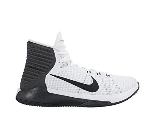 Nike Herren Prime Hype Df 2016 Basketballschuhe Weiß
