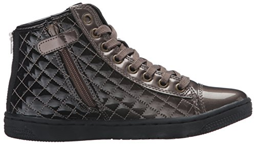 Geox Creamy D, Sneakers Hautes Fille Braun (CHAMPAGNE/DK GREYCB59F)