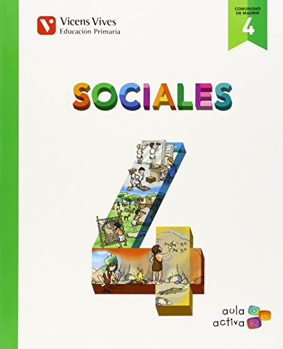 Sociales 4 Madrid (aula Activa) - 9788468228921 por Margarita Garcia Sebastian