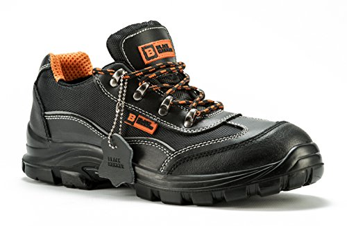 Mens Safety Boots Steel Toe Cap Work Shoes Ankle Trainers Hiker S1P...
