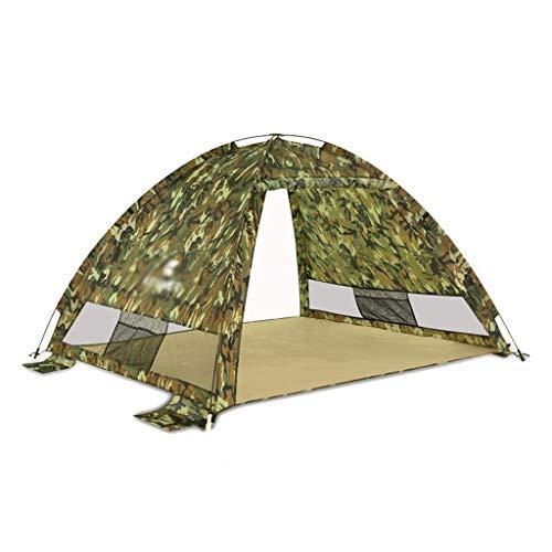 XUANLAN Tente pour Enfants de Haute qualité Tente pour Enfants Automatique Plage extérieure Parasol Vitesse Vitesse Ouverte pêche Bord de mer Protection Solaire UV Tente Durable (Color : A)