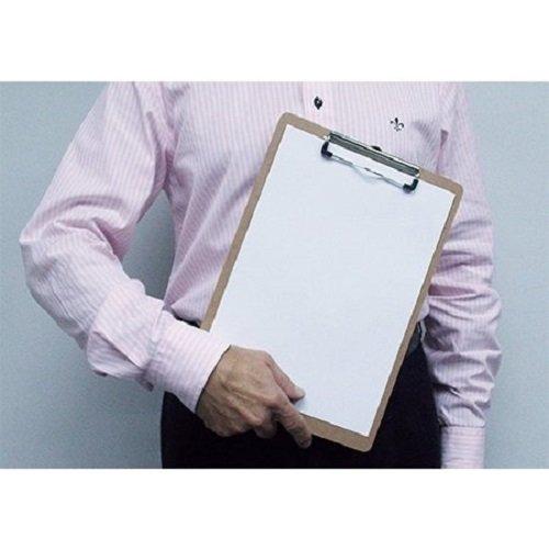 Acrimet Tavoletta portablocco formato A4 in faesite a basso profilo 6/pezzi