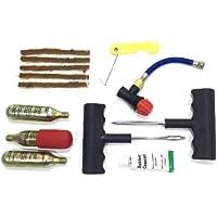 Moto Kit di riparazione per forature Auto Bici Tubeless Tyre pneumatici Riparazione