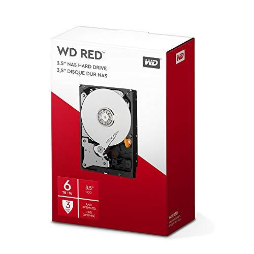 Western Digital WD NAS 6TB - Disco Duro Serial ATA