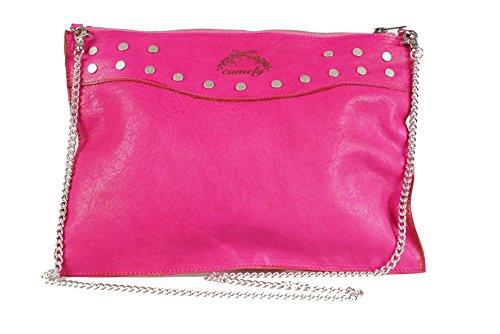 Camely borsa a tracolla envelope bag rosa Profesional De Salida Comprar Moda Barata El Envío Libre De Las Compras En Línea Colecciones De Salida 7abX22Az5