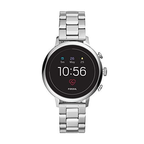 Fossil Gen 4 Donna Smartwatch Venture HR Argento Acciaio Inossidabile FTW6017