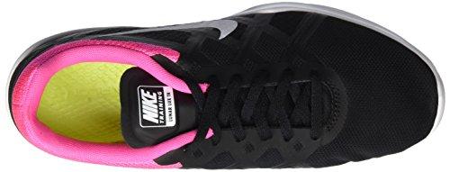 Nike Ladies Lunar Lux Tr Scarpe Da Corsa Nere (nero / Bianco-rosa Esplosione)