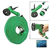#7: Sosa Hose Pipe with Jet Spray Gun, 10 m (Green)