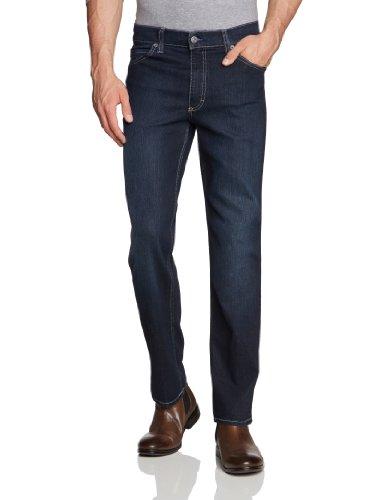 MUSTANG Herren Jeans Normaler Bund 111-5126 Tramper - Herrenjeans blaublack strechdenim - straightleg - slimfit, Gr. 36/30, Blau (old stone used 580)