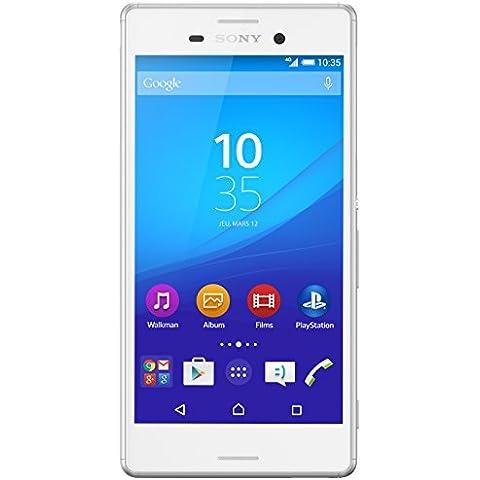 Sony Xperia M4 Aqua Dual 16GB 4G Color blanco - Smartphone (SIM doble, Color blanco, Android, NanoSIM, EDGE, GPRS, GSM, HSPA+, UMTS) [Importado de Francia]