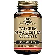 Solgar Calcium Magnesium Citrate Tablets - Pack of 50