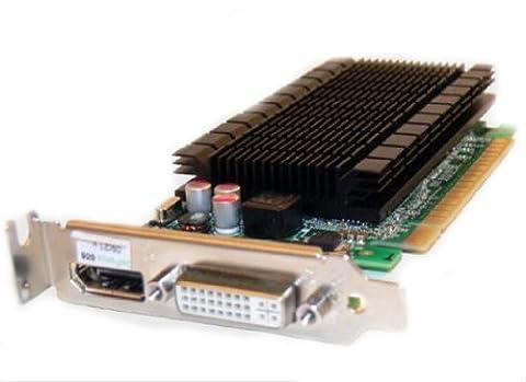 FUJITSU NVIDIA GeForce 605 1GB FH PCIe Dual Monitor 1xDVI-I 1x Display port Dual link HDCP DirectX10 inklusive Adapter DVI VGA DDR3
