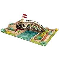 Keranova - Kit de cerámica Puente de Leonardo da Vinci, Color marrón ...
