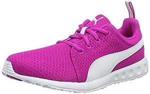 Puma Damen Carson Mesh Wn's Laufschuhe, Pink (Ultra Magenta-Puma White 08), 40.5 EU