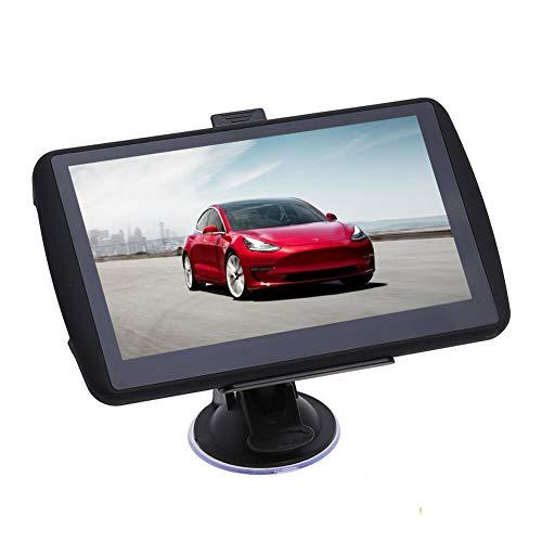 Navigationsgerät 7 Zoll Touchscreen GPS Navi Auto Navigation für LKW PKW KFZ Aonerex Navigationsystem mit Lebenslang Kostenloses Kartenupdate Blitzerwarnung Sprachführung 52 Karten für Europa