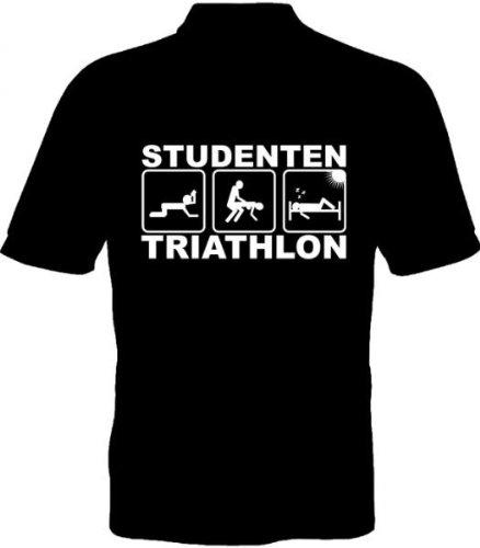 Geschenkideen Fruit-Loom-T-Shirt-Studenten-Triathlon