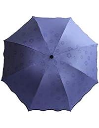 Nueva Creativa Paraguas Plegable Vinilo UV Protección Parasol Oso Lluvioso Al Aire Libre Soleado Paraguas,