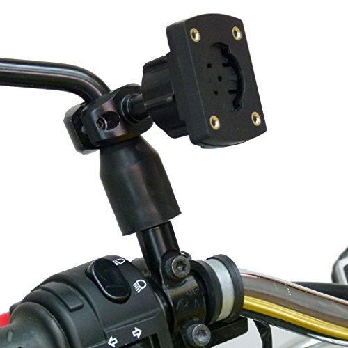 Buybits Motorrad Bike Scooter Moped Spiegel Halterung für Garmin Edge