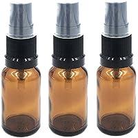 Bernsteinfarbenes Glasfläschen mit schwarzem Sprühkopf, 15 ml, 3 Stück Perfekt für ätherische Öle, Aromatherapie-Duftmischungen... preisvergleich bei billige-tabletten.eu