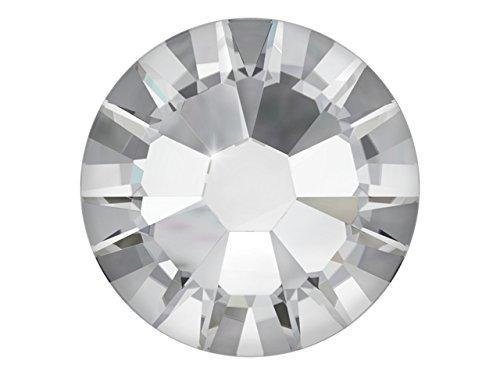 100 Nail Art Kristalle - SWAROVSKI Crystal - XILION Rose - Flat Back No Hotfix - Nagel-Design Strass Steine zum Aufkleben - crystal 1.75mm