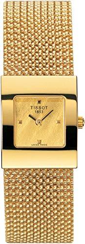 Tissot TISSOT Bellflower Lady 18K Gold T73.3.321.21 Reloj de Pulsera para Mujeres