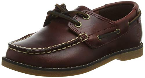 Timberland Seabury Classic 2Eye Boat, Náuticos Unisex-Niños, Marrón Dark Brown Full Grain, 39 EU...