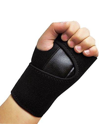 TFXWERWS Karpaltunnel Schiene Arthritis Verstauchungen Zugentlastung Hand Bandage Sport Waren Handgelenk Unterstützung Band (Linke Hand) -