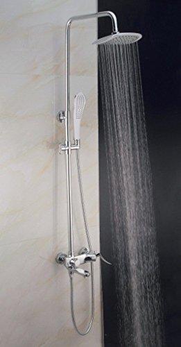 NewBorn Faucet Wasserhähne Warmes und Kaltes Wasser Guter Qualität die Dusche voll Kupfer Dusche Konzern-Ergebnis Gang Zum Einstellen des Wassers zu Heben Eine Handdusche Zubehör Tippen