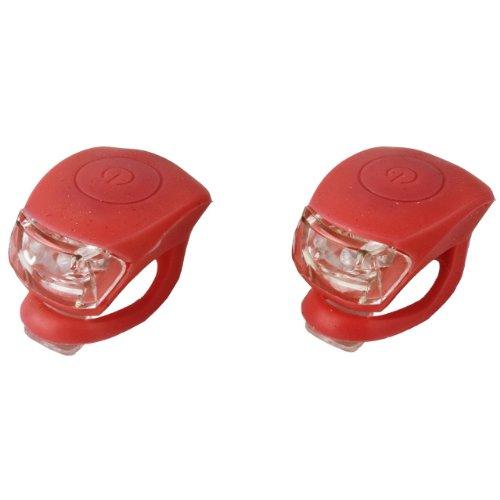 JING YI Profex LED-Leuchtenset aus Silikon, Mini LED rot