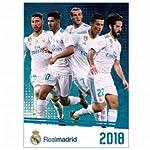 Offizielles Real Madrid 2018 Fußball Kalender 420mm x 297mm (A3)
