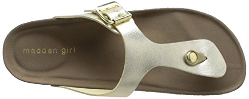 Madden Girl Boise Synthétique Tongs Gold Paris