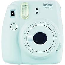Fujifilm Instax Mini 9 - Cámara instantánea, color smokey white