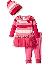 Youngland Baby Girls 3 Piece Knit Tunic