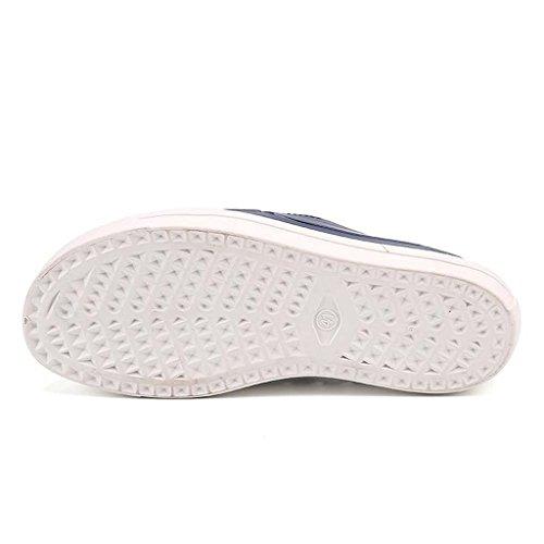 ZXCV Scarpe all'aperto Scarpe impermeabili degli uomini traspiranti impermeabili delle scarpe degli uomini Il blu scuro.