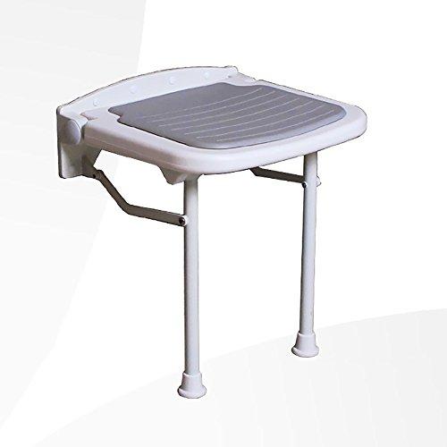 Chaise pliante QFFL d'accoudoir Simple/Tabouret créatif de Mur de Salle de Bains/Tabouret de Bain de Vieil Homme/Changement de Porte de Tabouret de Chaussures Tabouret d'extérieur
