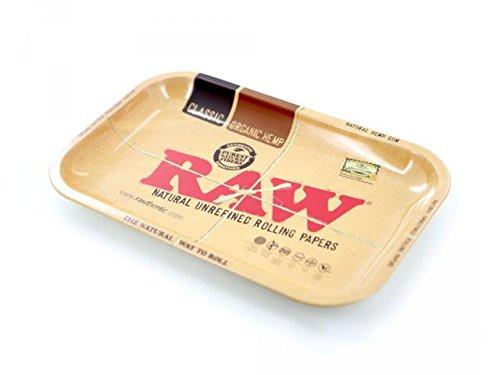 Preisvergleich Produktbild RAW Metal Rolling Tray (groß 27.5 x 33.5 cm)