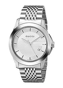Gucci Timeless YA126401 38 Multicolor Steel Bracelet & Case Men's Watch