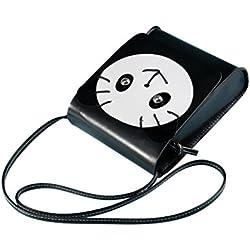 Todo-Fósforo Mujer oso de dibujos animados mini bolsa de hombro bolsa de Crossbody paquete de claves de cambio de la moneda bolsas de contenedores monederos Republe