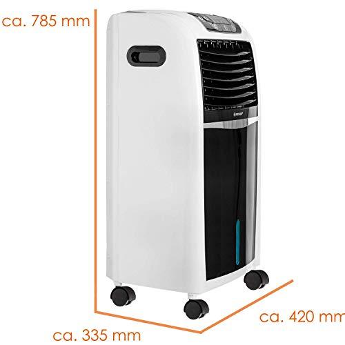 KESSER® 4in1 Mobile Klimaanlage   Fernbedienung   Klimagerät   Ventilator Klimaanlage   8 L Wasser/Eis Tank   Timer   3 Stufen   Ionisator Luftbefeuchter   Luftkühler Weiß Bild 4*