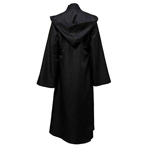 Huntfgold Herren Kapuzen Robe Umhang Ritter - Jedi Ritter Kostüm Für Erwachsene