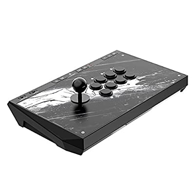 GameSir C2 Arcade Fightstick for Xbox One, PlayStation 4,Windows PC and Android Device by GameSir