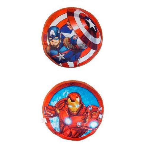 Kids Euroswan Cojín con Diseño Avengers, Poliéster, Azul, 5x30x40 cm