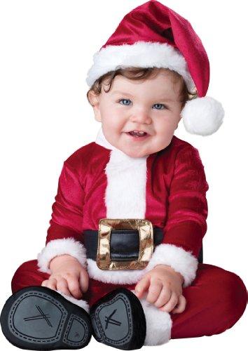 Deluxe Plüsch Santa Claus Baby Infant Vater Weihnachten (Kostüme Claus Santa Baby)