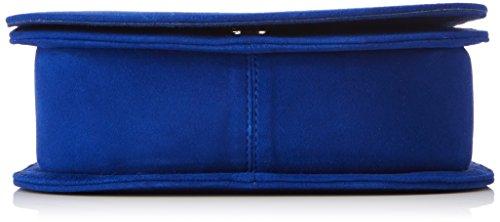 Unisa Damen Zborea_ks Clutch, 18.5x14.5x6.5 cm Blau (Sapphire)